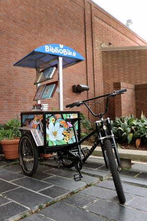 The Lafayette Public Library now has a BiblioBike.