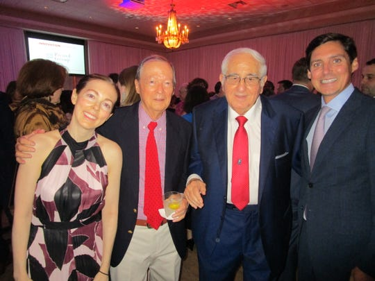 Erin and Edward Dinan, Raymond Blanco and Jeff Jenkins