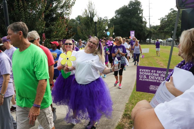 The Walk to End Alzheimer's will be Saturday at Blackham Coliseum.