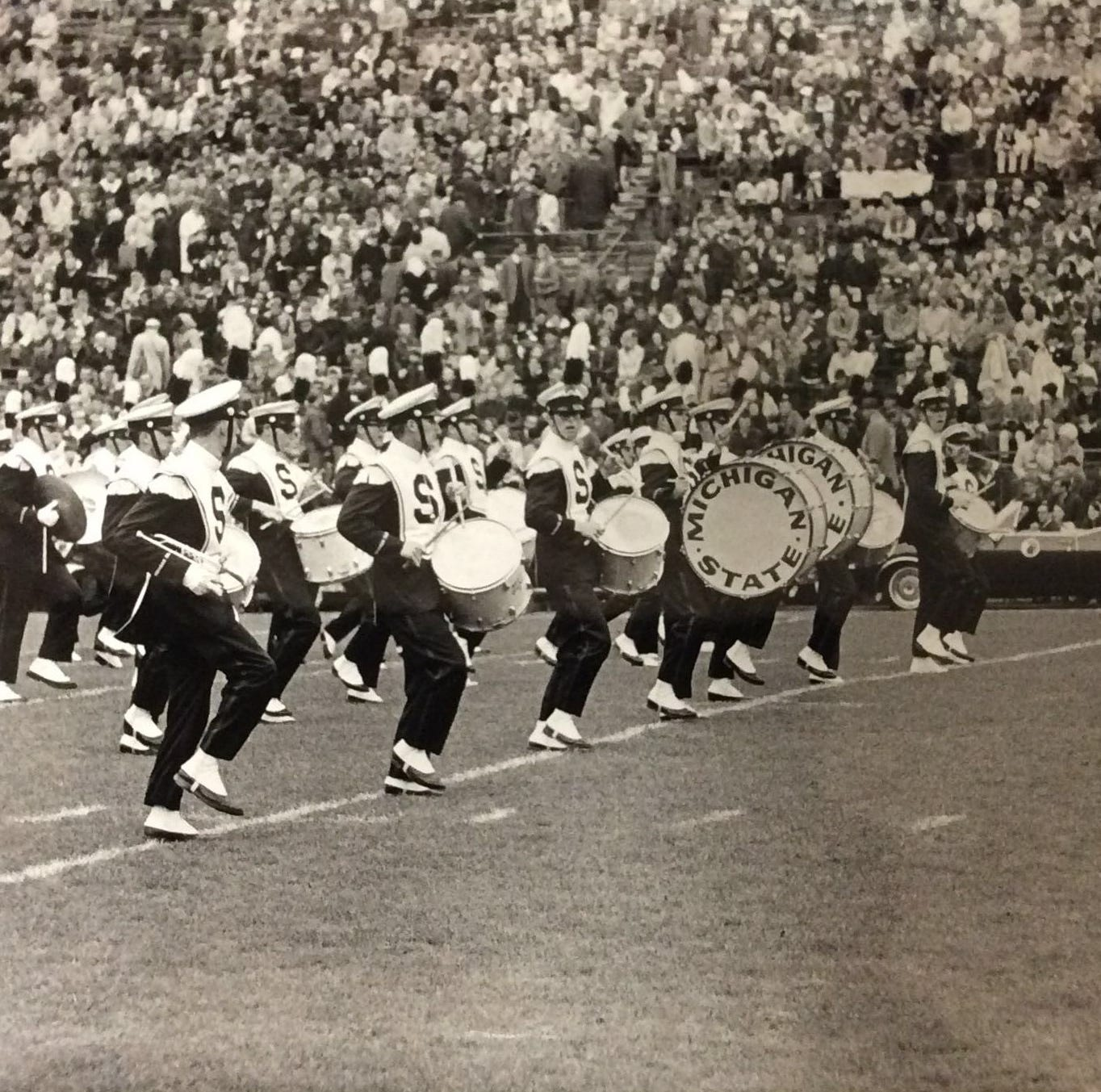 From the Archives: Michigan State University Marching Band