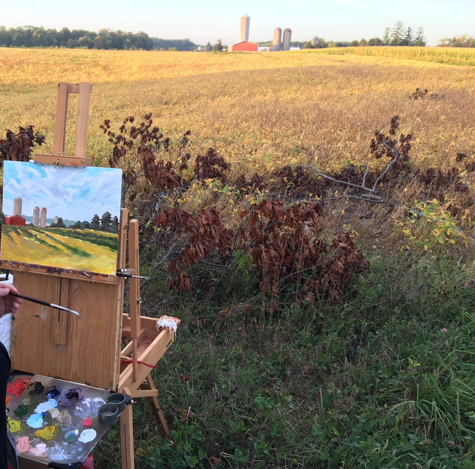 Manitowoc artists on plein air painting popularized by Claude Monet | Art Forward