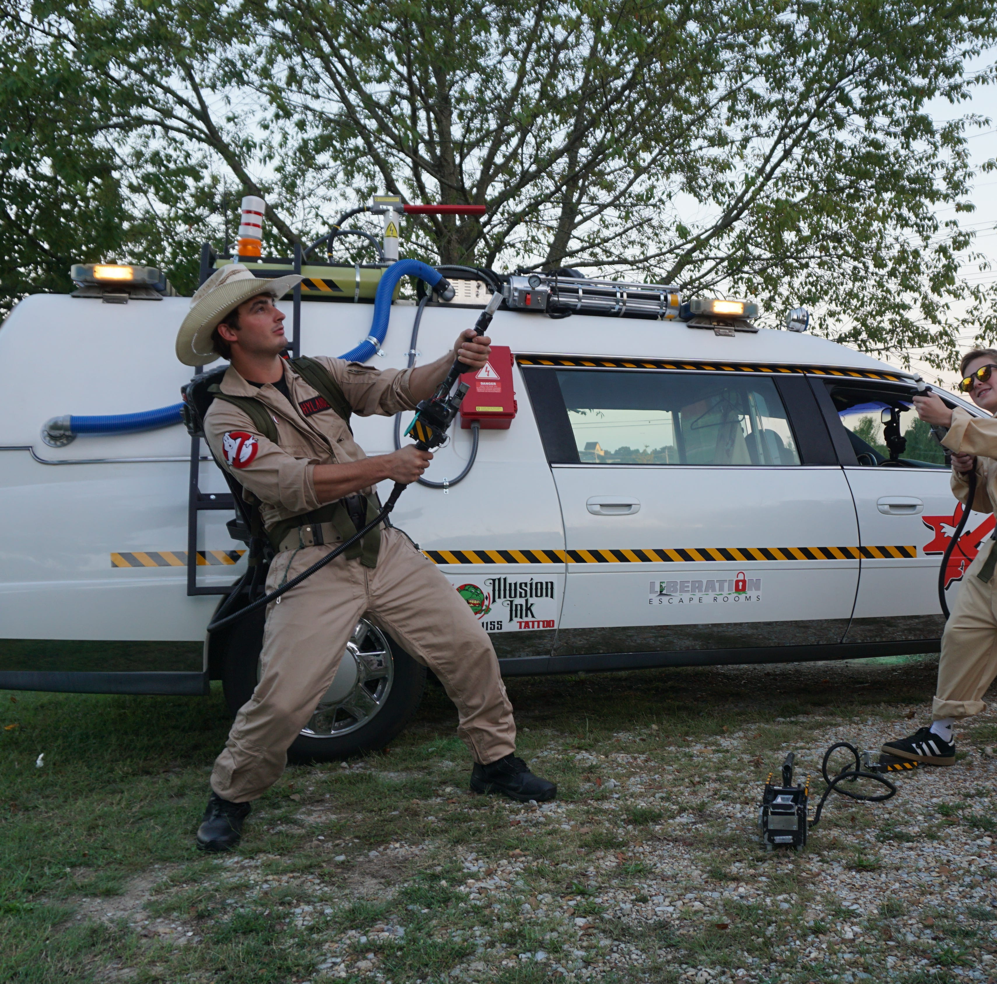 Who ya gonna call? Ghostbusters on the scene in DeSoto County