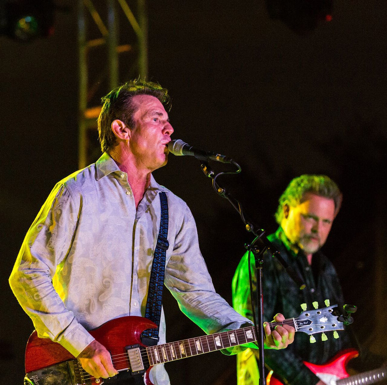 Dennis Quaid returns to Memphis — but this time, he's bringing a band