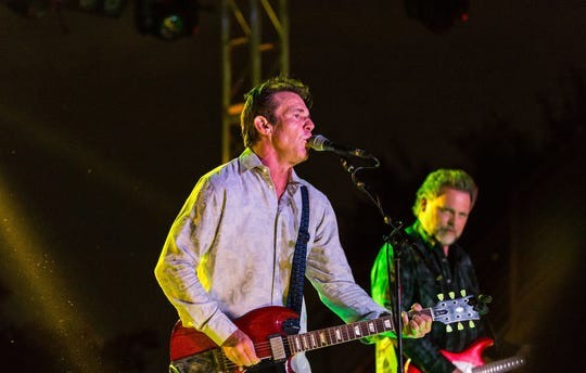 Shark and roll: Dennis Quaid leads a band of veteran musicians who call themselves the Sharks.