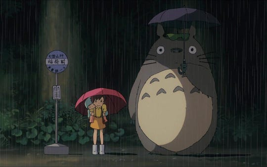 """Magical, mysterious, wonderful: """"My Neighbor Totoro"""" screens Monday at the Paradiso."""