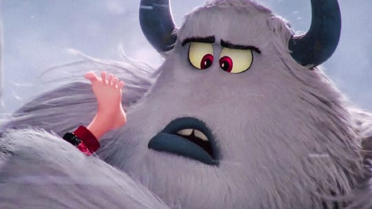 """Channing Tatum provides the voice for a lovable Yeti in """"Smallfoot."""""""