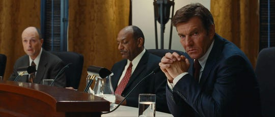 "Dennis Quaid is a skeptical preacher in Craig Brewer's remake of ""Footloose."""