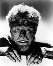 """Halloween becomes howl-o-ween when Lon Chaney Jr.'s werewolf is on the prowl. """"The Wolf Man"""" screens Oct. 5 at Elmwood Cemetery."""