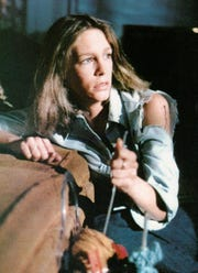 """Jamie Lee Curtis proves that knife girls finish first in """"Halloween,"""" which returns Oct. 9-10 to the Paradiso."""