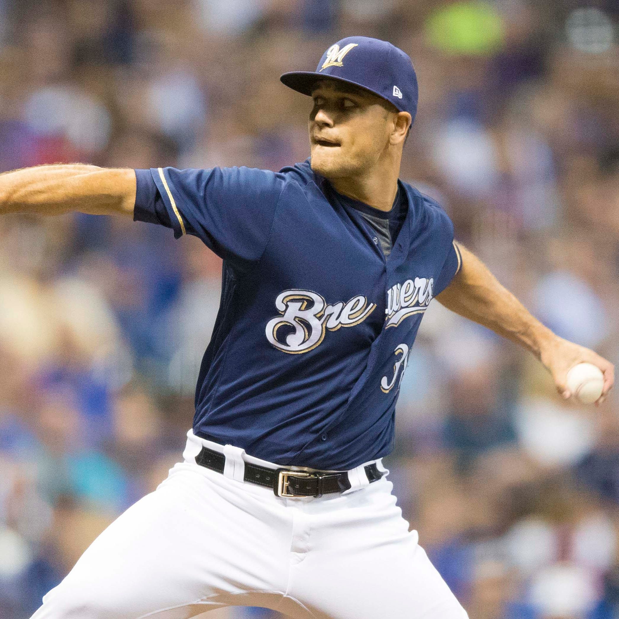 Brewers will send left-handed reliever Dan Jennings to the mound first Monday against Cards