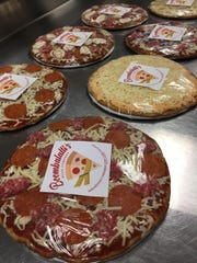 Boombalatti's Pizza Company makes an array of low-carb and gluten-free pizzas.
