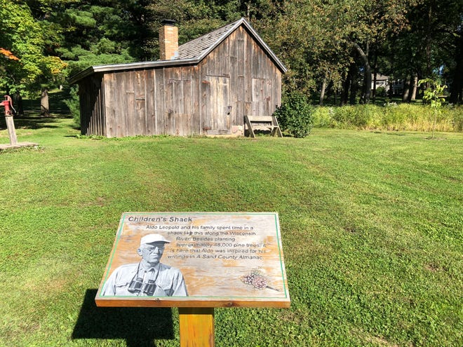 At the Aldo Leopold Nature Center in Monona, visitors can see a replica of the Shack where the Leopold family played and studied the natural world.