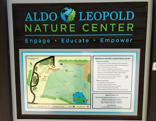 The majority of the 60,000 people who visit the Aldo Leopold Nature Center in Monona each year are students.