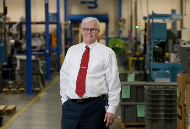 Richard A. Meeusen, CEO of Badger Meter for 16 years, is retiring at the end of 2018.