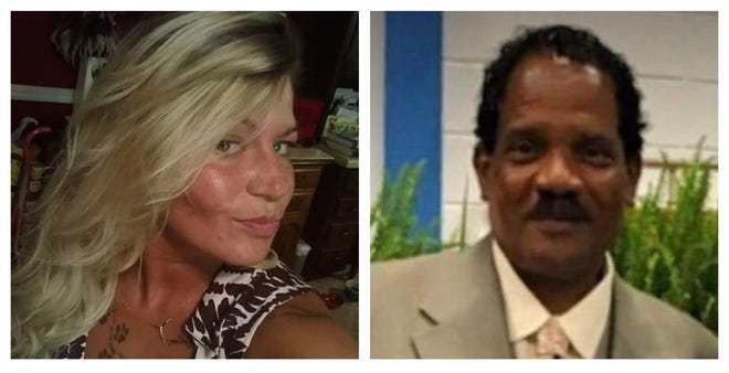 The bodies of Monica Cooper and John Softley were found Saturday on a local road under an Interstate 22 bridge in Dora.