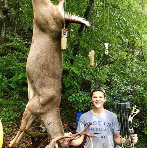 Tennessee deer harvest down for opening weekend