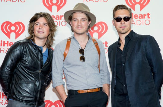Hanson headlines the Adventureland Oktoberfest in Altoona on Oct. 6, 2018.