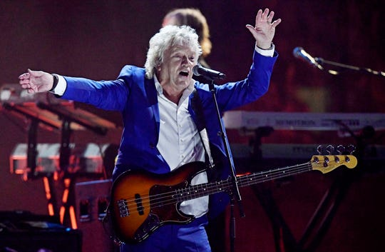 John Lodge of the Moody Blues performs in this file photo.