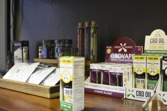 Ways to use CBD products include oils, topical creams, serums, vape pens and edibles, 615 CBD owners Chad Cheadle and Alyssa Russell explained.