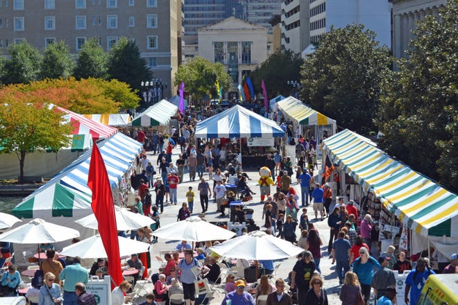The 2018 Southern Festival of Books is Oct. 12-14 at War Memorial Plaza and the downtown Nashville Public Library.