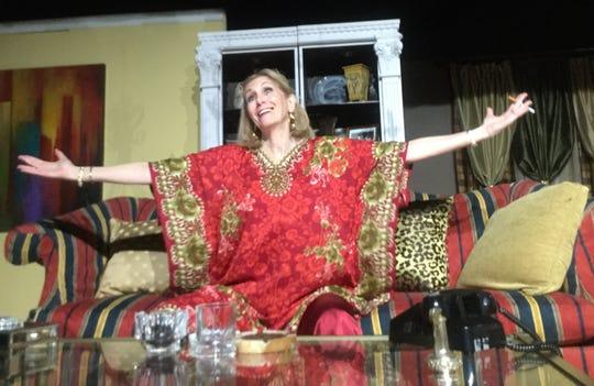 "Patti Carroli as Sue Mengers in ""I'll Eat You Last"""