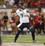 Coastal Carolina quarterback Kilton Anderson threw for 1,288 yards and 17 touchdowns during his junior season at Naples High before moving to Washington.