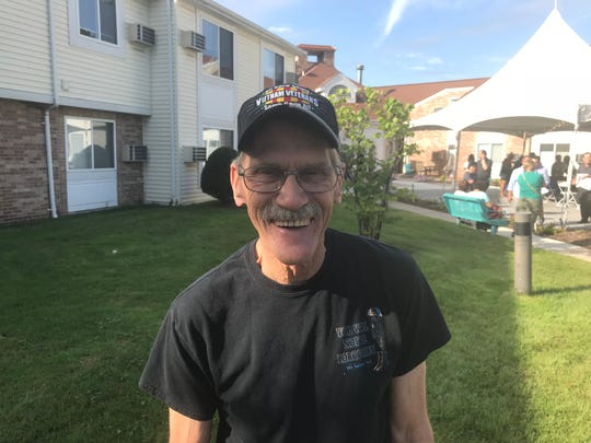 Dusty Muraszko, a Vietnam War veteran, is thankful he found affordable housing at the Walter Behnke Senior Housing Complex in Paramus.