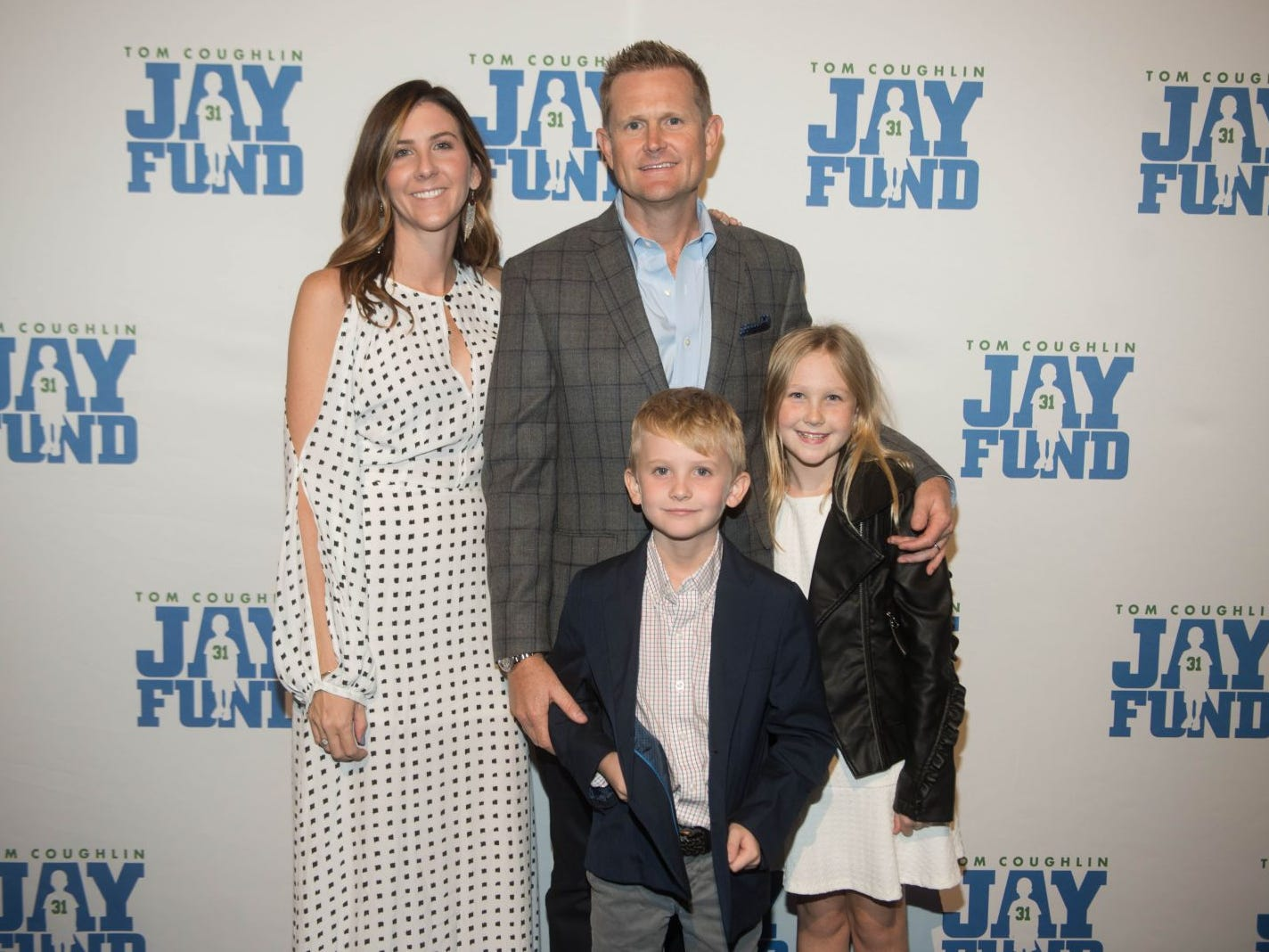 Denise Stirk, Andy Stirk, William and Carlie. The 14th annual Jay Fund Champions for Children Gala was held at Cipriani 42nd Street. 09/21/2018