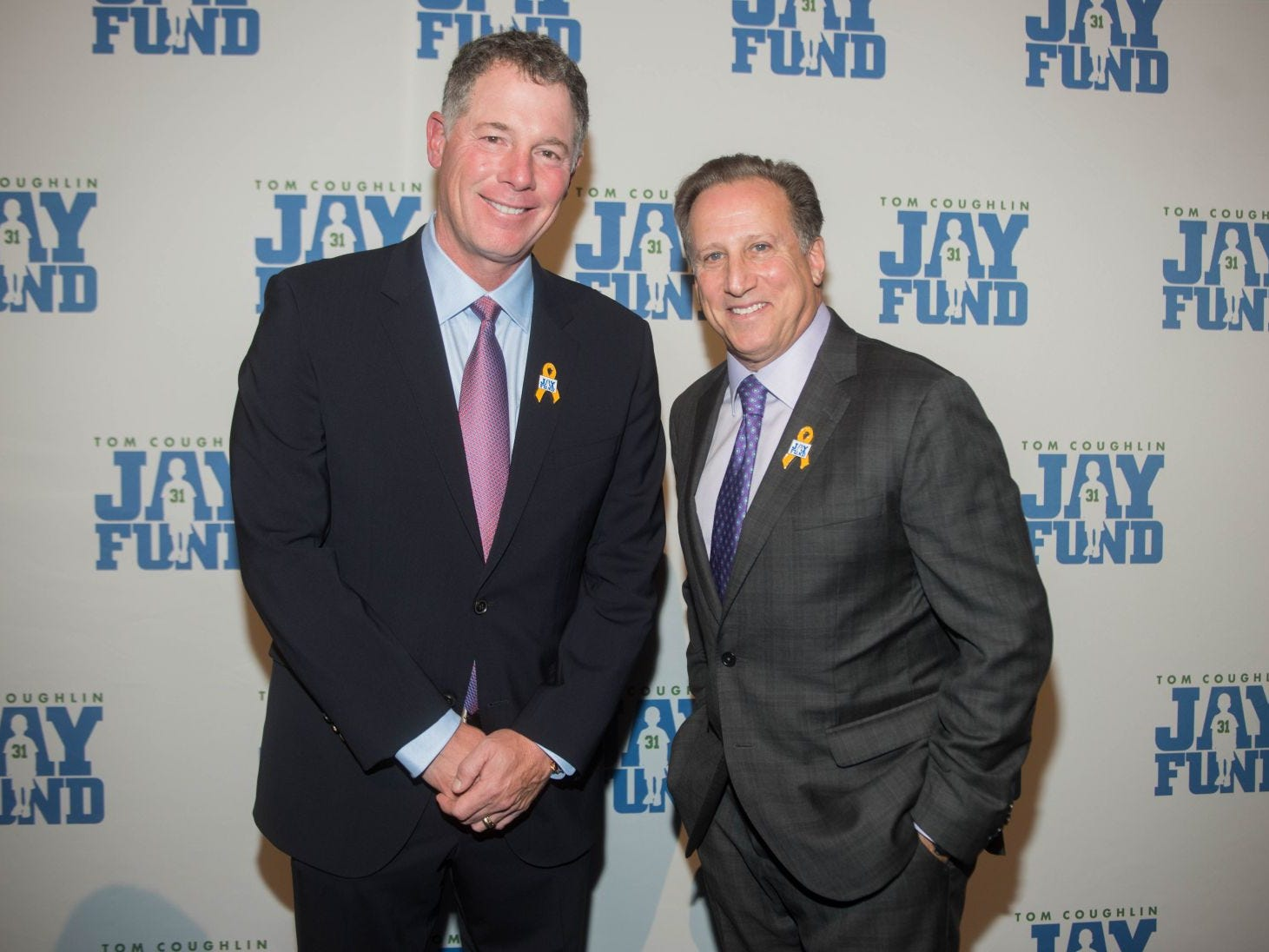 Pat Shurmur and Bruce Beck. The 14th annual Jay Fund Champions for Children Gala was held at Cipriani 42nd Street. 09/21/2018