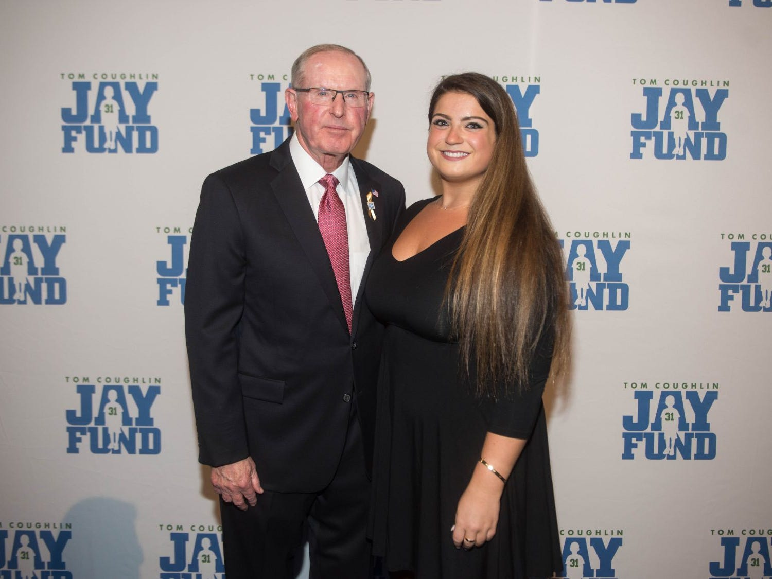 Tom Coughlin and Meghan G. The 14th annual Jay Fund Champions for Children Gala was held at Cipriani 42nd Street. 09/21/2018