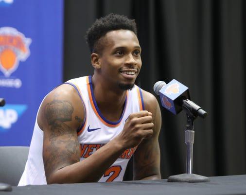 Knicks Media Day