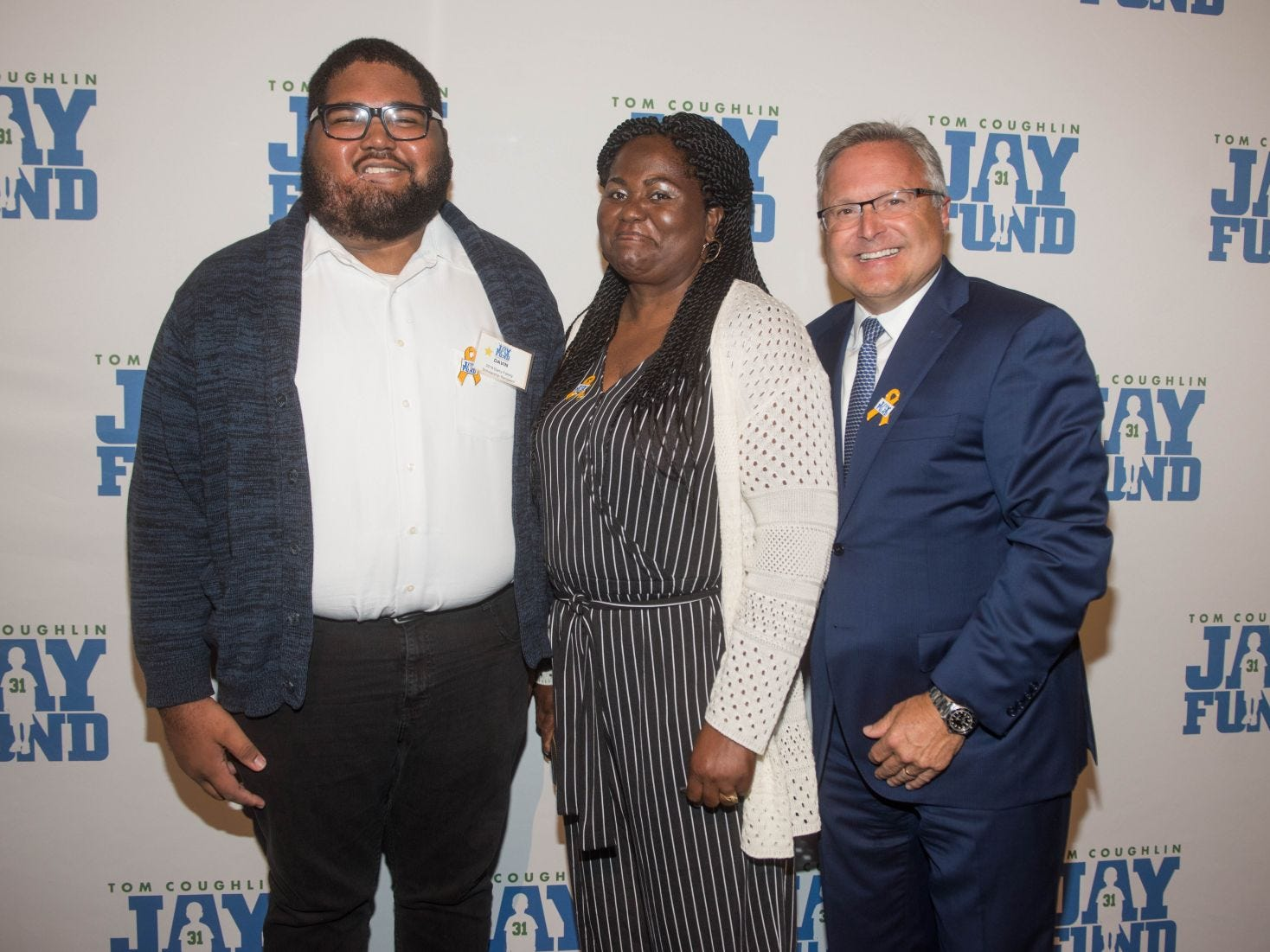 Davin Goulbourne, Gene Scott and Steve Barry. The 14th annual Jay Fund Champions for Children Gala was held at Cipriani 42nd Street. 09/21/2018