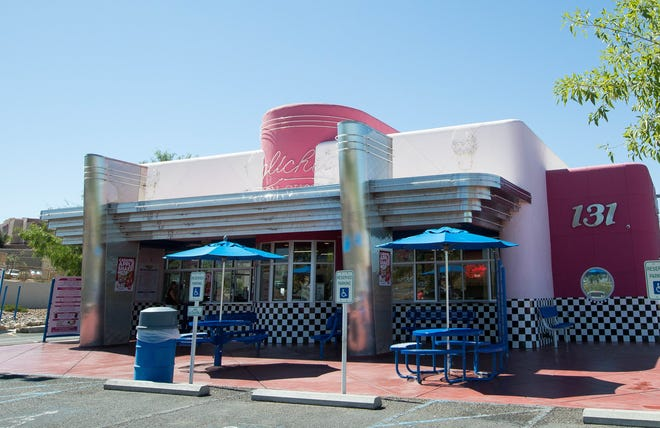 Caliche's Frozen Custard, which specializes in frozen custard, stands on Monday, Sept. 24, 2018 at 131 N. Roadrunner Parkway in Las Cruces. The business, which runs two locations in Las Cruces and one in Alamogordo, celebrates its 22nd anniversary this year.