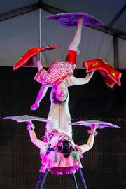 Dragon Lights Albuquerque will showcase Chinese dancers and acrobats, including face changing performances, contortion acts and Chinese Yo-Yo presentations.