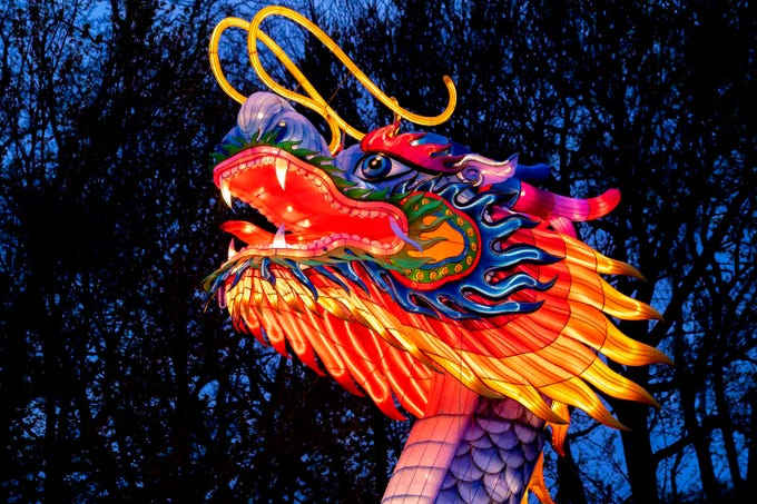 Dragon Lights Albuquerque will feature all new larger-than-life, fully-illuminated lanterns, as well as Chinese cultural performances and special handcrafted items.