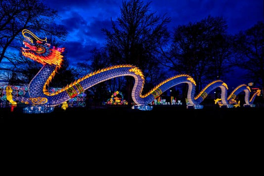 Dragon Lights 40 Foot Long Dragon