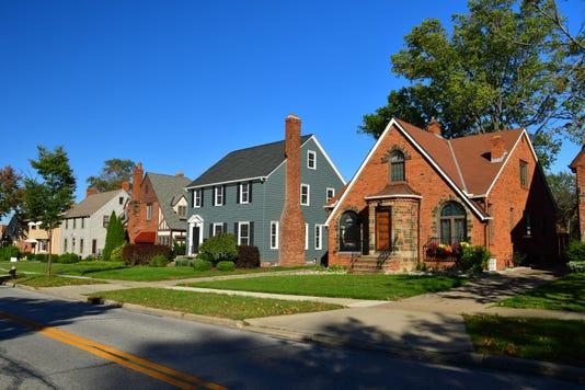 Cleveland Suburb Houses