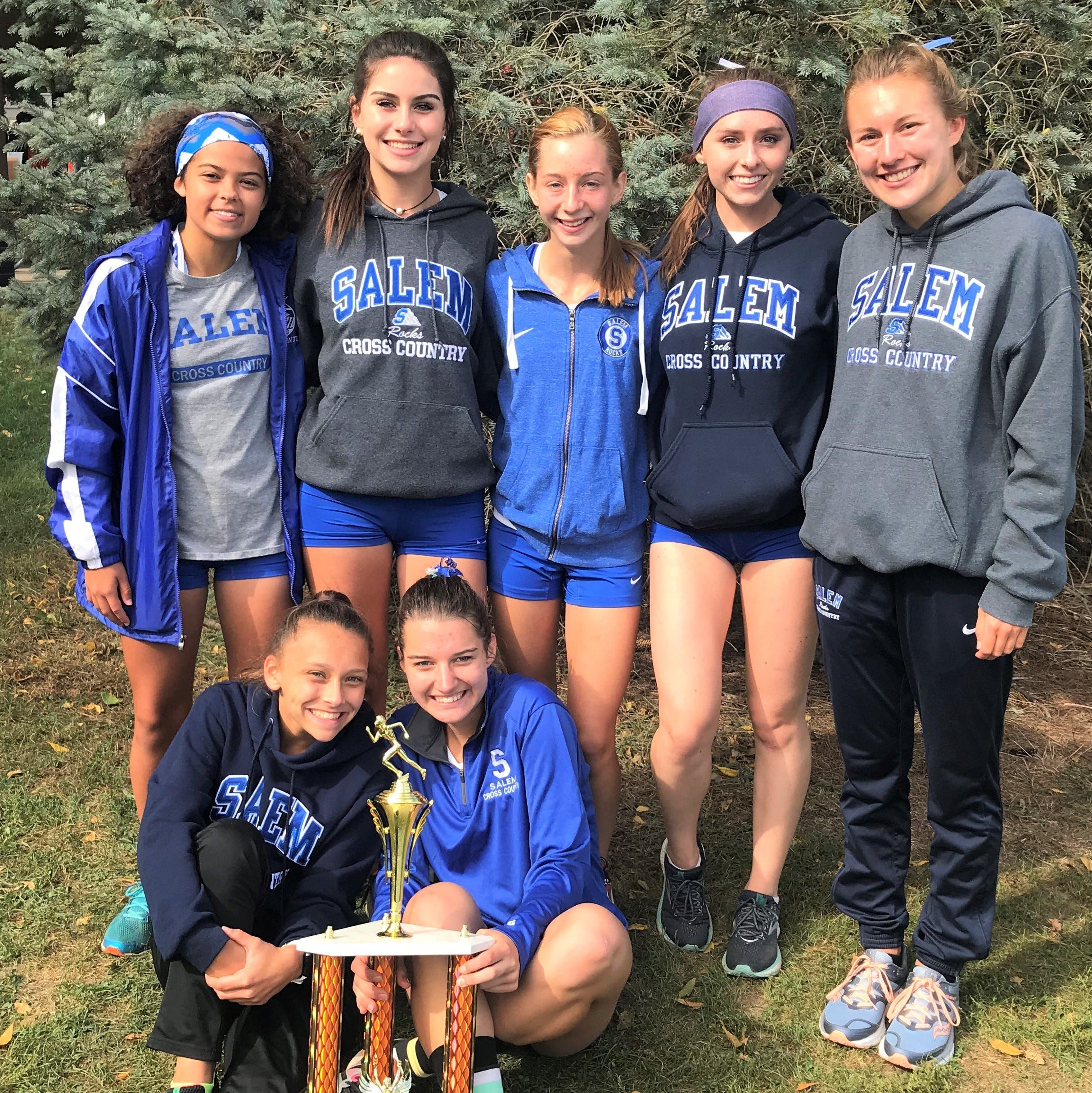 Salem girls overcome state's best to rule Jackson XC Invitational