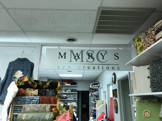 Marys Sew Creations moved to its Evans Street location in July.