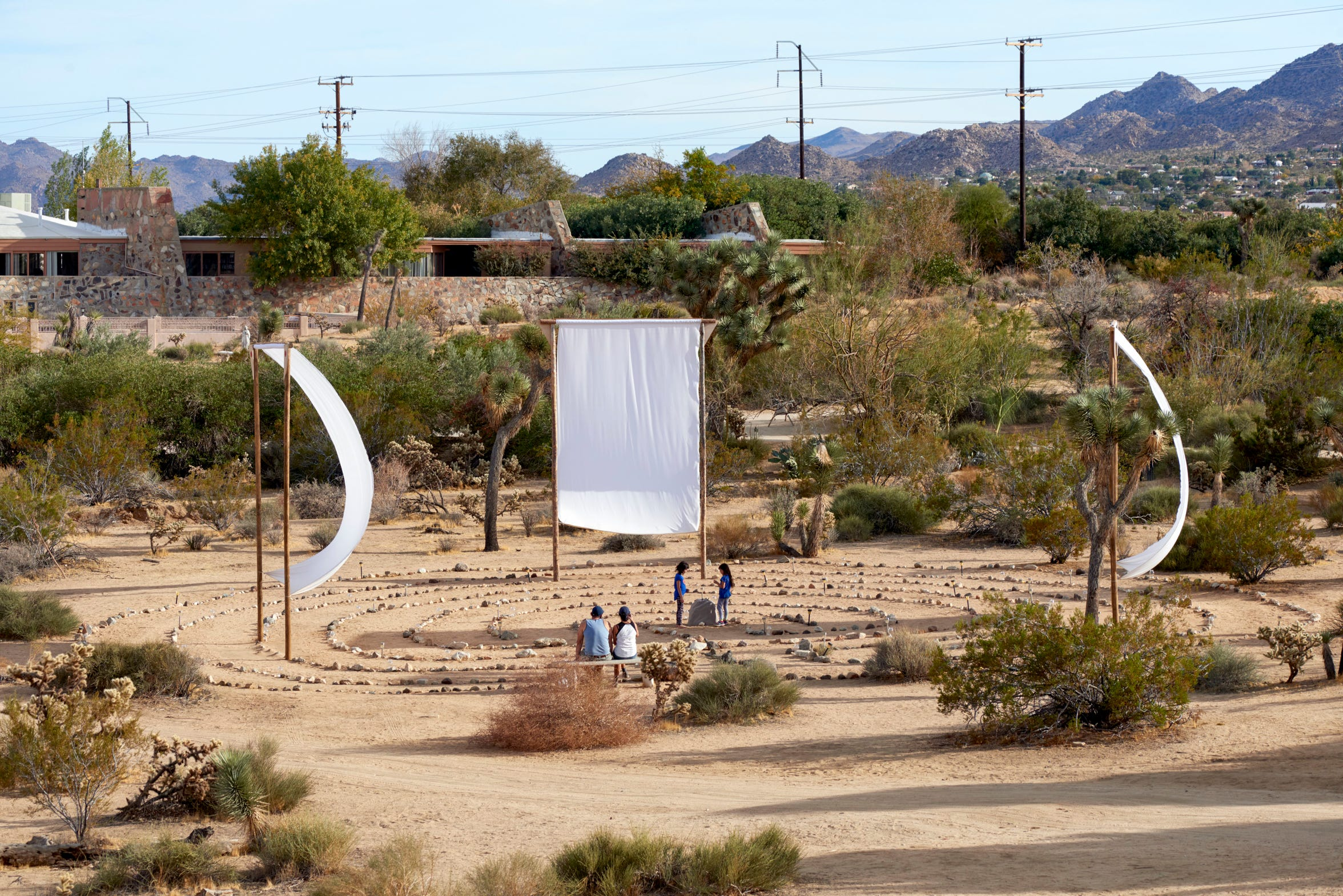 The Joshua Tree Retreat Center, or The Institute of Mentalphysics, in Joshua Tree