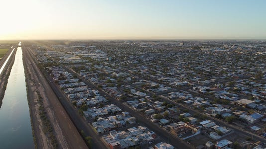 Aerial over Mexicali