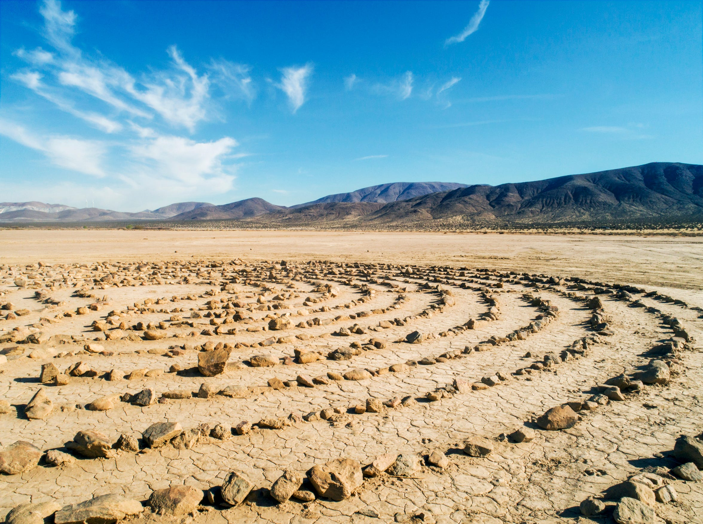 A labyrinth in Apple Valley
