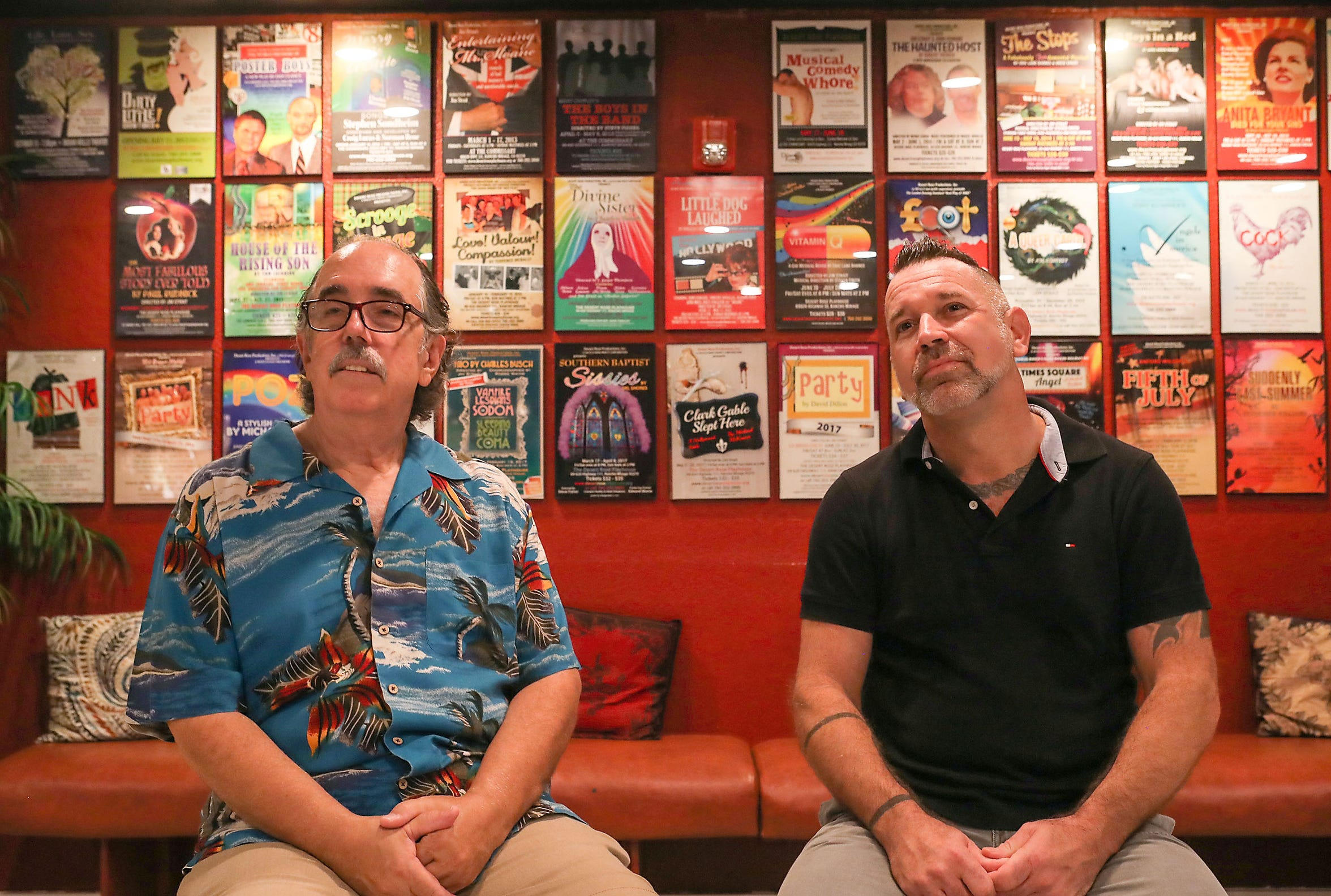 Paul Taylor and Robbie Wayne of the Desert Rose Playhouse talk about the Rancho Mirage-based theater.