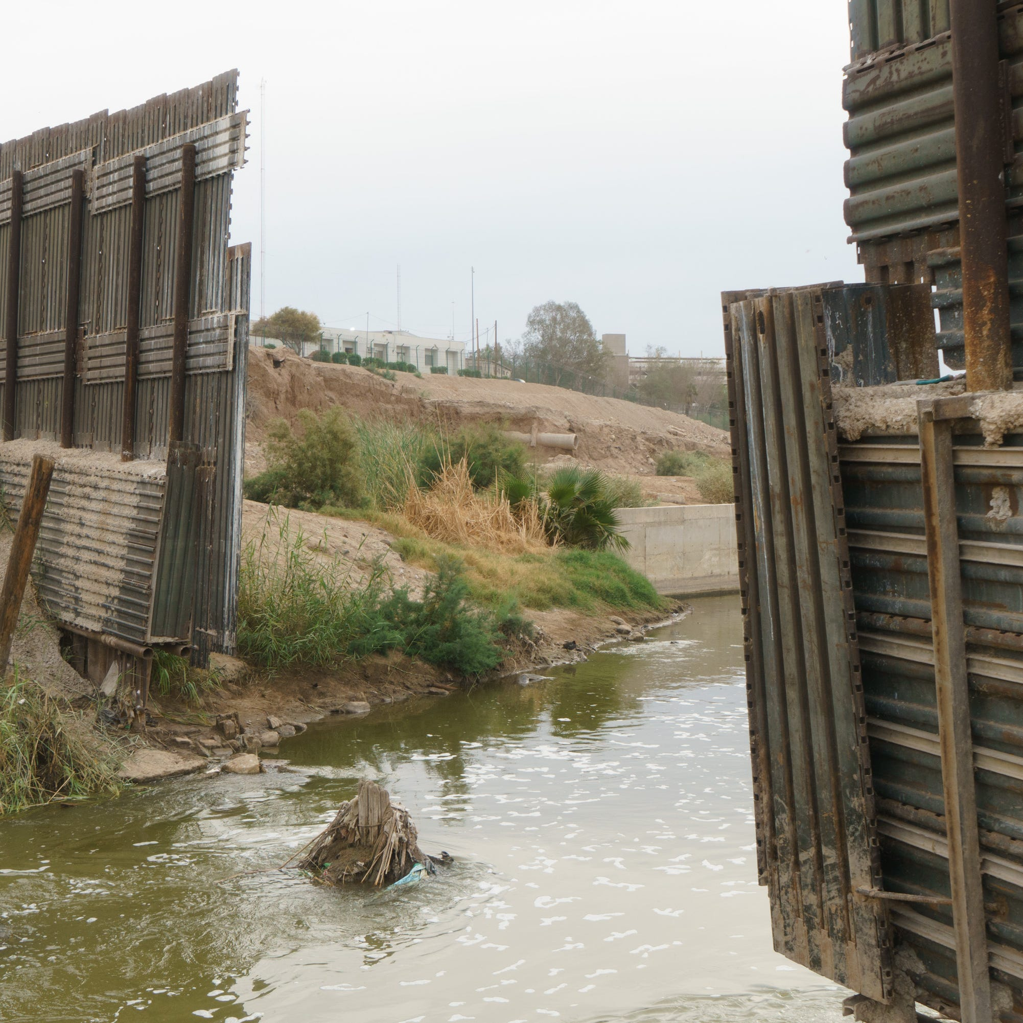 'A crisis of sewage': California lawmakers seek funding for the polluted New River