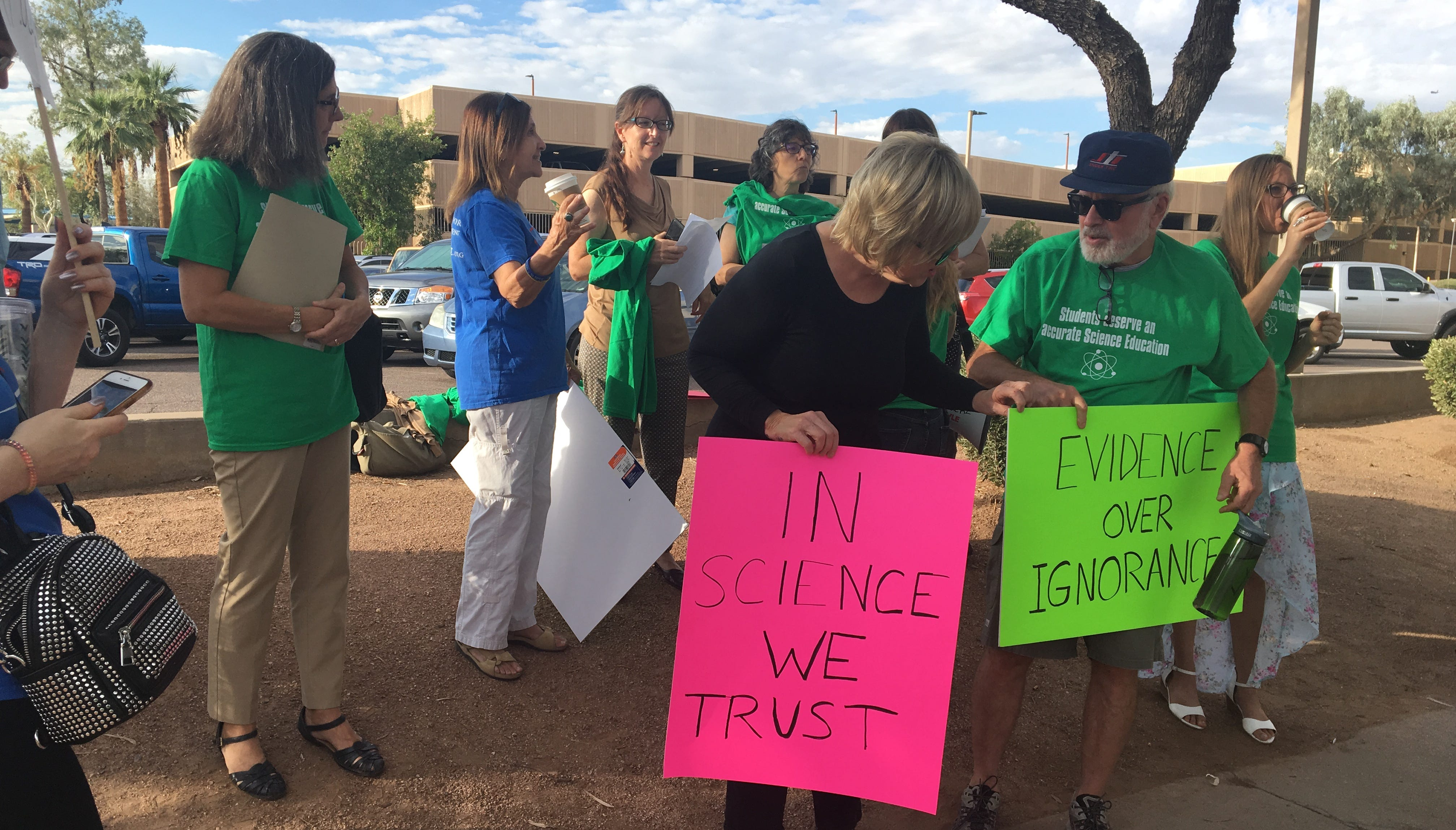 'Science not fairy tales:' Teachers speak out against proposed science standards