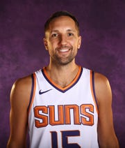 Suns forward Ryan Anderson on media day.