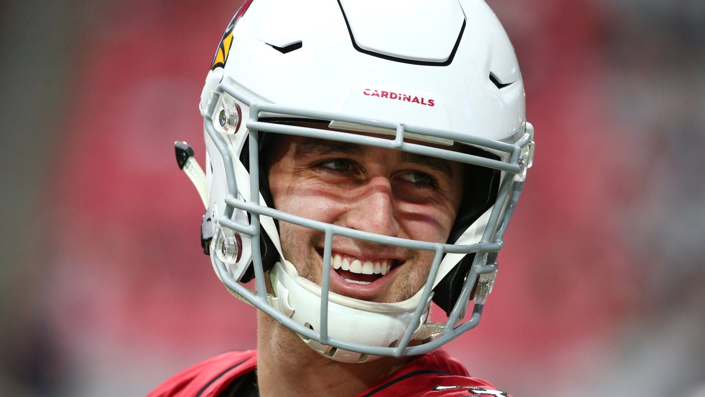 5dcbf28db Josh Rosen named starting quarterback for Arizona Cardinals