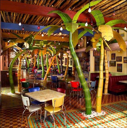 Chuys Interior