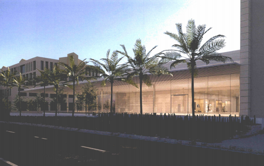 Renderings of the new Apple store at Scottsdale Fashion Square. The store will open at 10 a.m. on Saturday Sept. 29, in the old Barney's location, at the northwest corner of Scottsdale and Camelback roads.