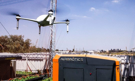 Airobotics, an Israeli automated drone startup, announced Tuesday it will open its North American headquarters in Scottsdaleat 8340 E. Raintree Drive.